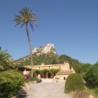 Main view of the Rural Petit Hotel Es Picot